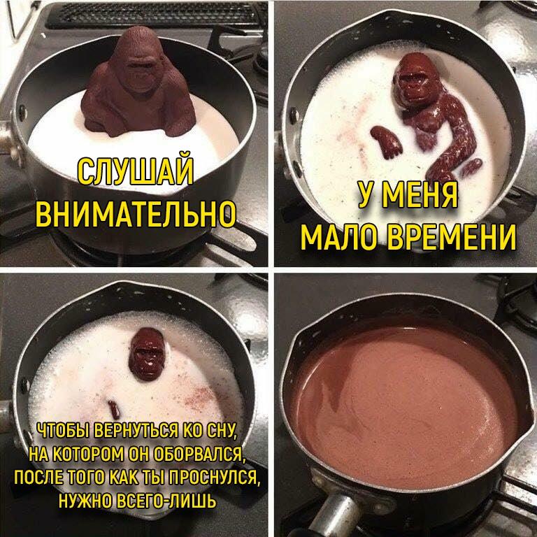 Шоколадная горилла