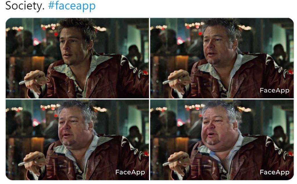 Какое приложение делает лицо толстым