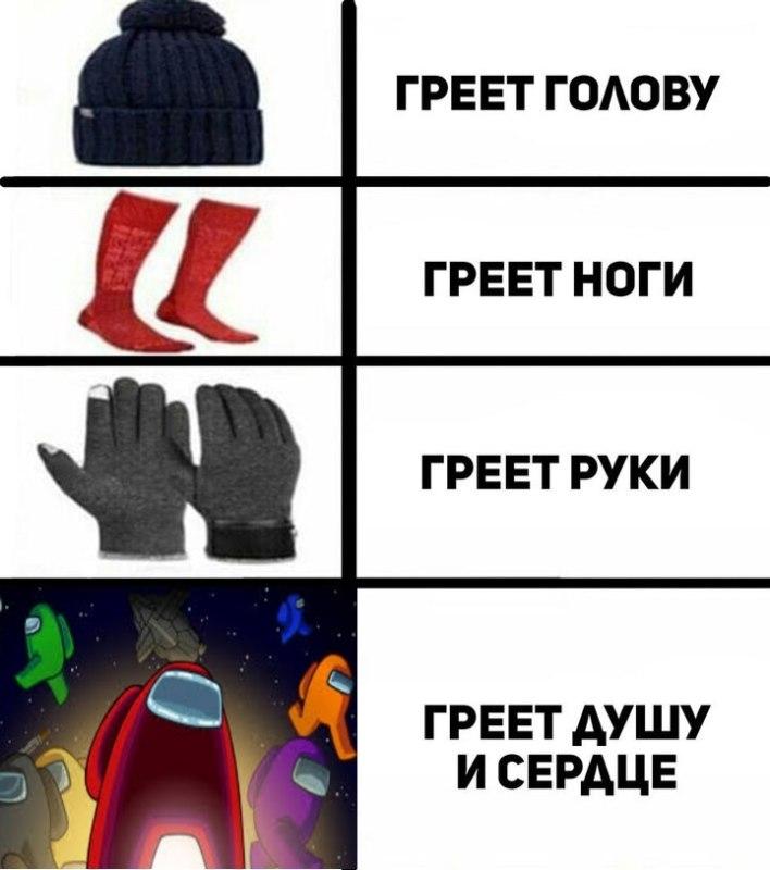Among Us мемы