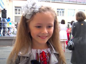 украинская школьница