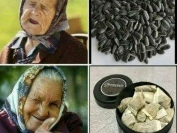 Бабка и снюс