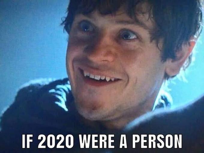 если бы 2020 был человеком