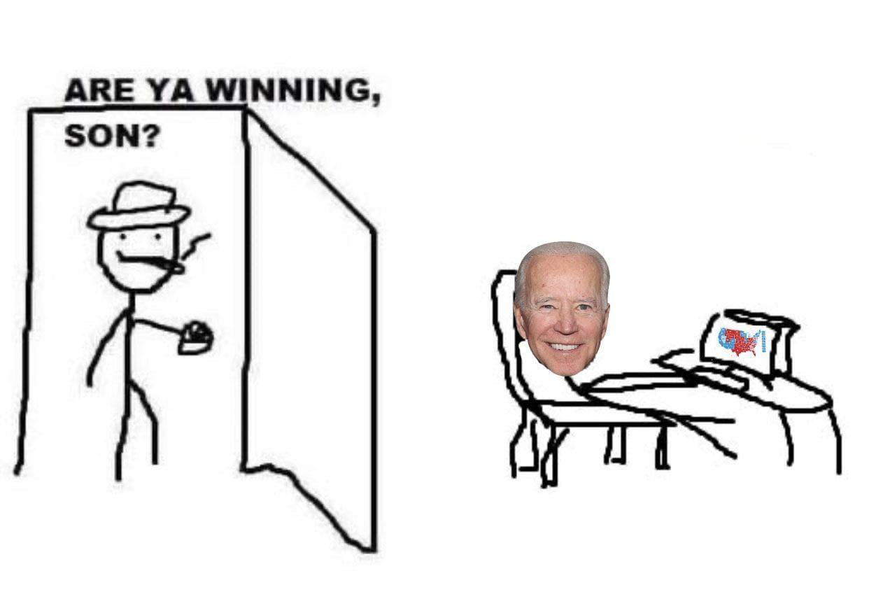 джо байден президент мемы