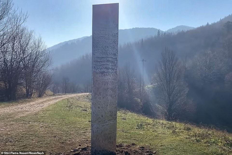 монолит в румынии