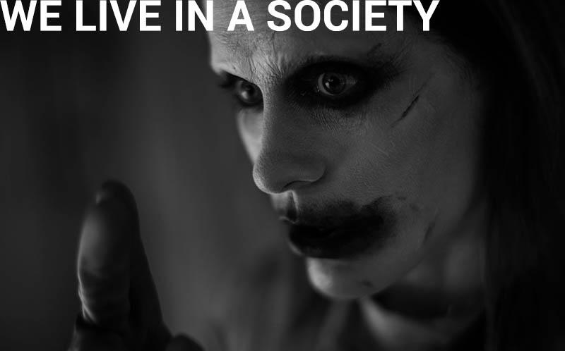 Мы живем в обществе джокер