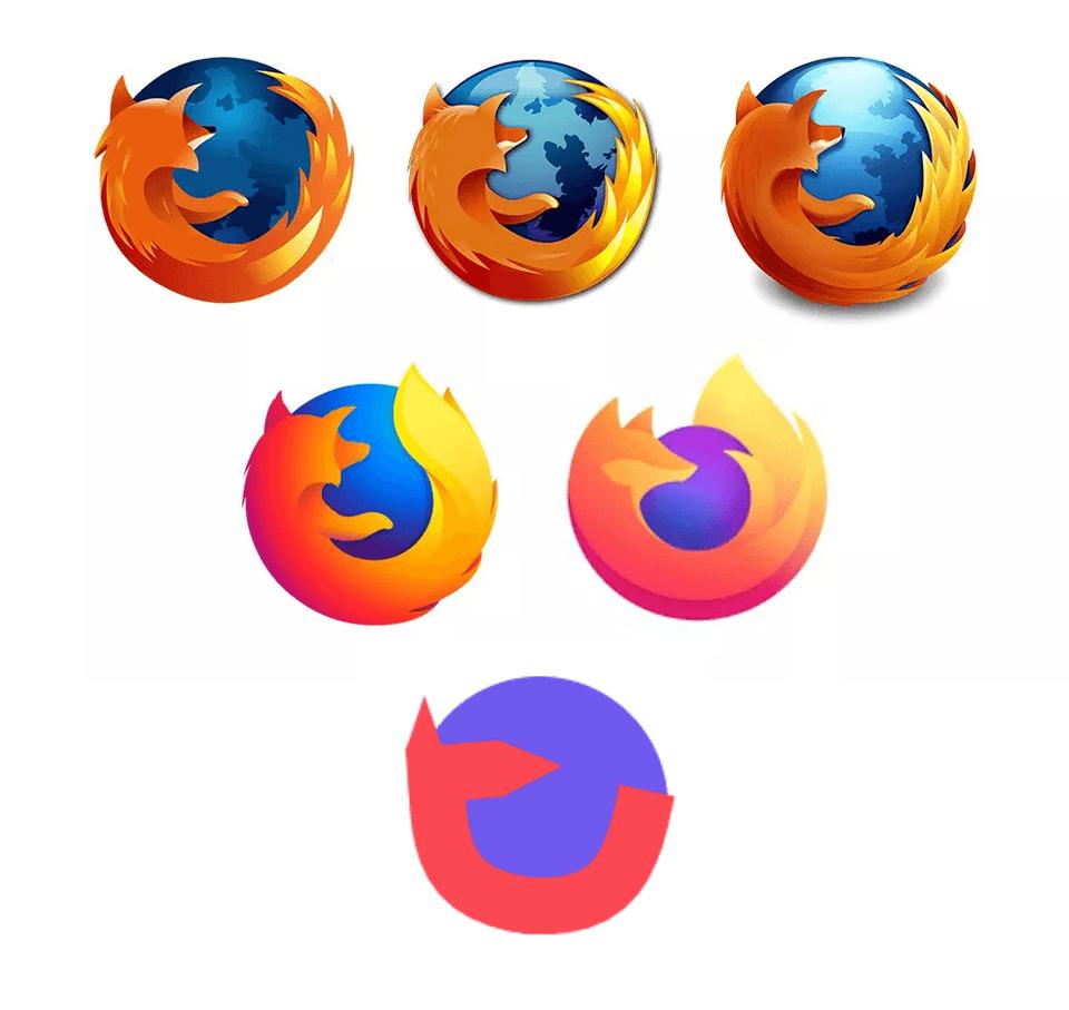 мемы про логотип firefox