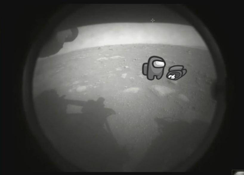посадка марсохода 2021