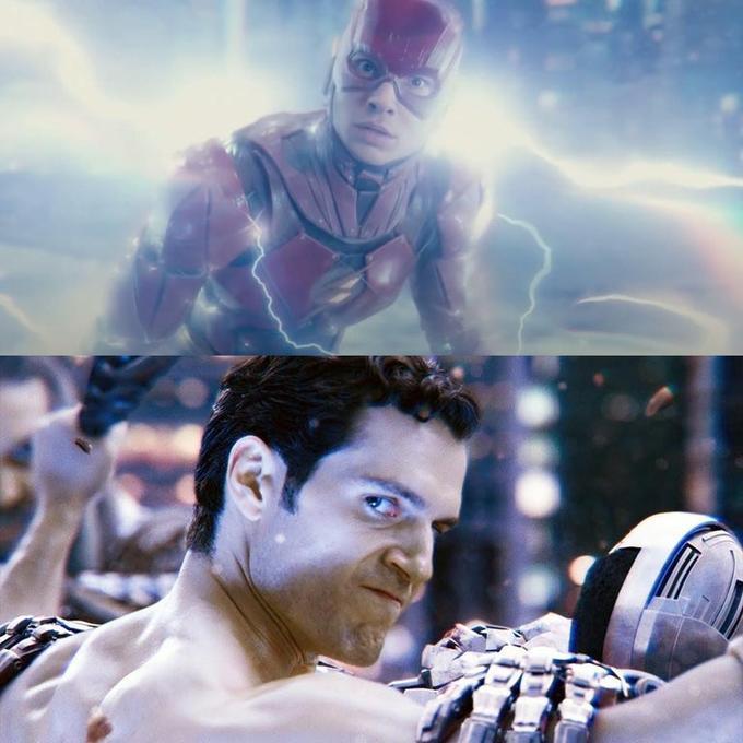 Супермен и Флэш мем