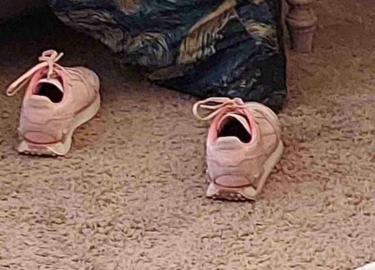 кроссовки орут