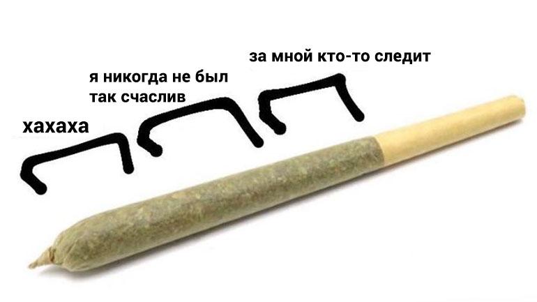 мем с косяком