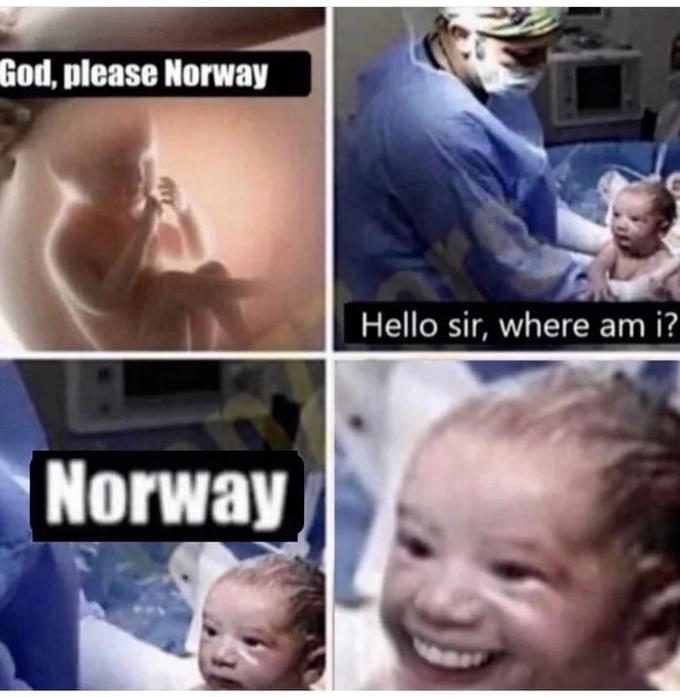 god please norway