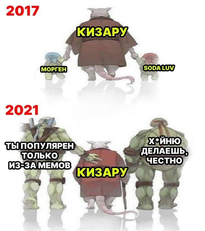 кизару мемы
