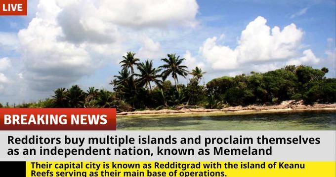 остров reddit island мемленд memeland