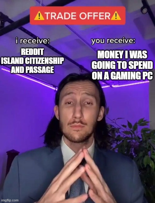 Memeland Reddit Island