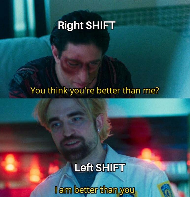 Ты думаешь, что ты лучше меня