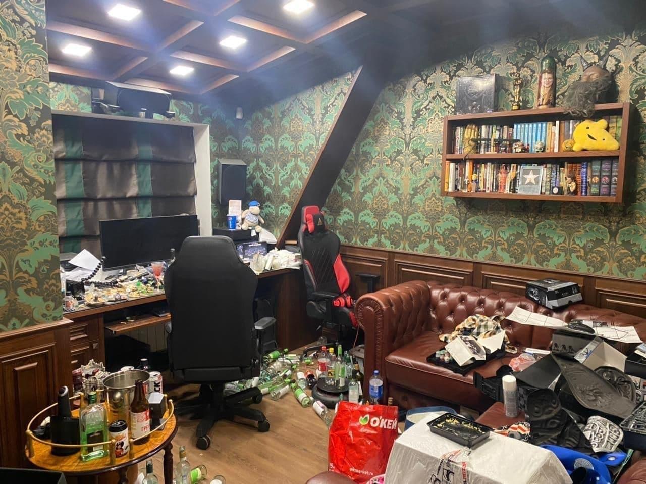 срач в квартире хованского