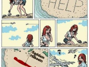 Укрытие Саддама Хусейна