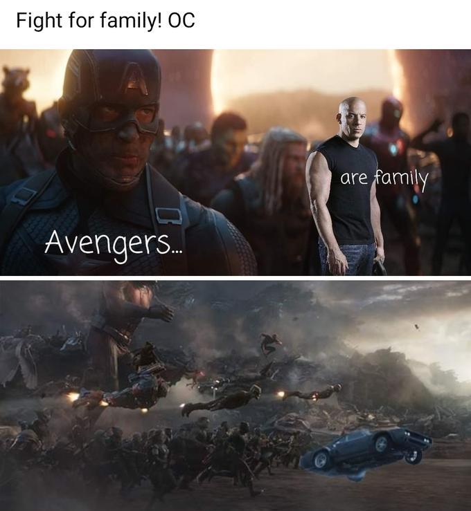 Нет ничего сильнее семьи