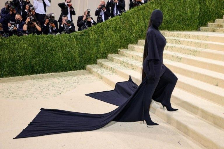 Ким Кардашьян наMet Gala