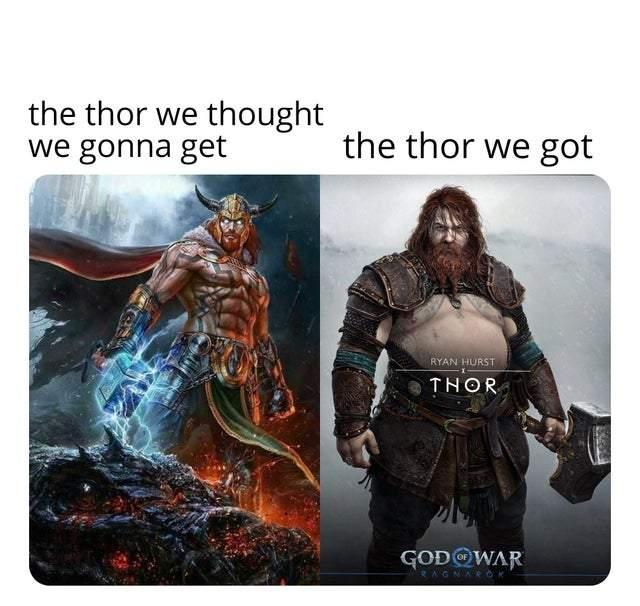 «Это соответствует его образу в скандинавской мифологии. Marvel не создавала Тора».
