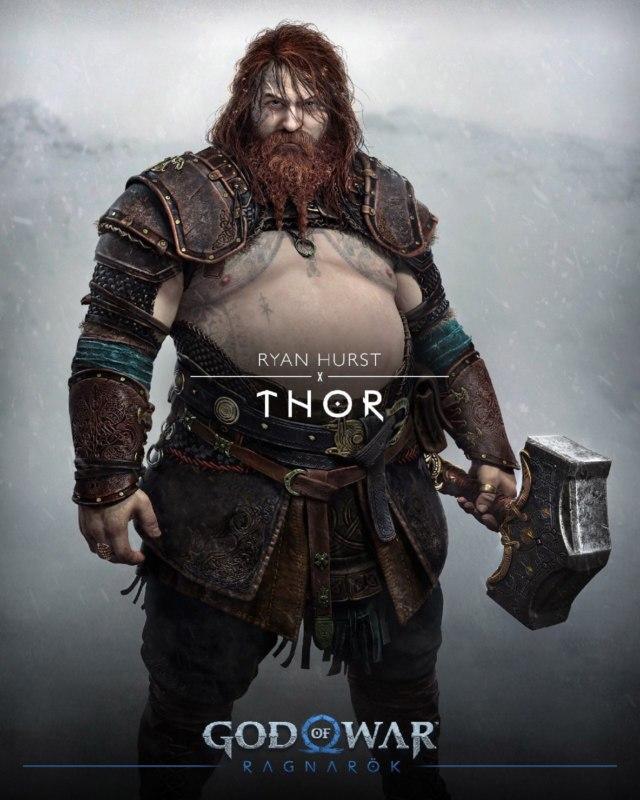 толстый тор из god of war