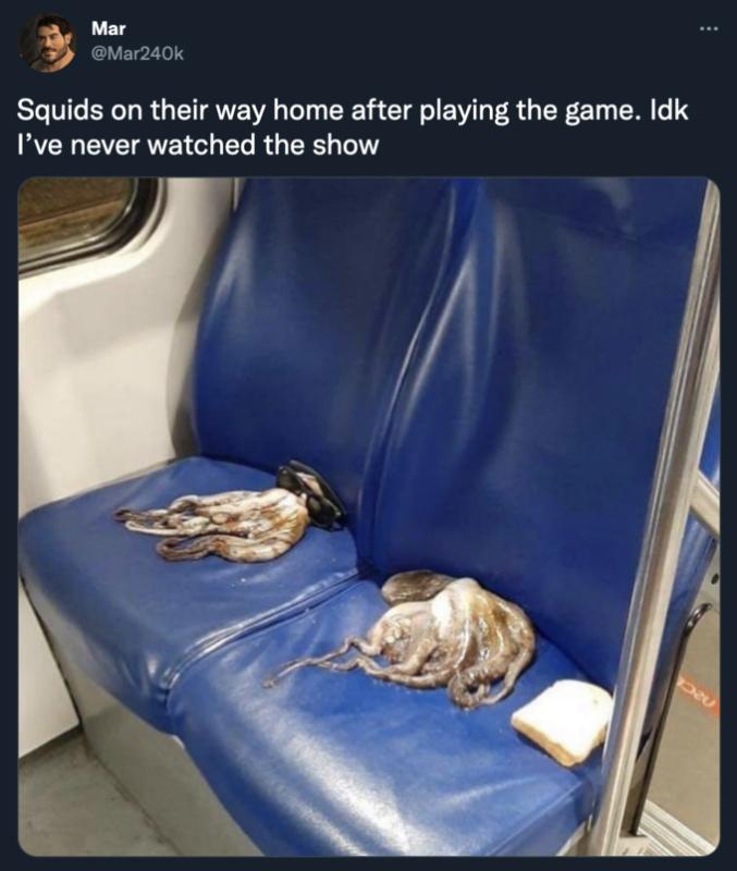 игра в кальмара мем