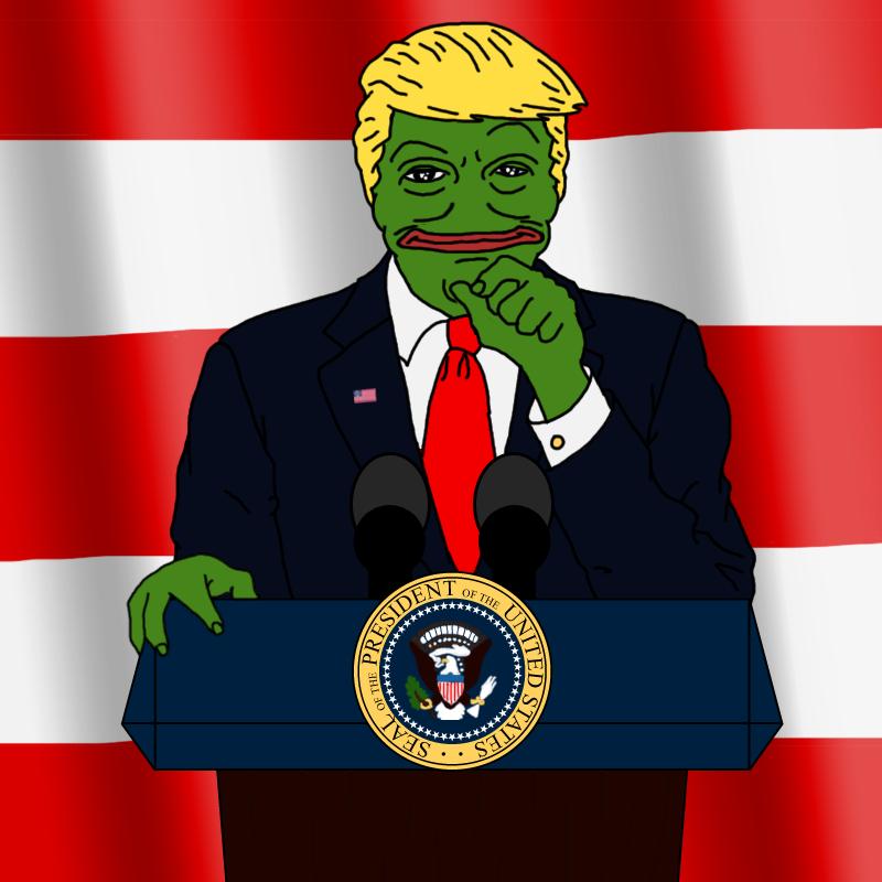 Грустная лягушка мем