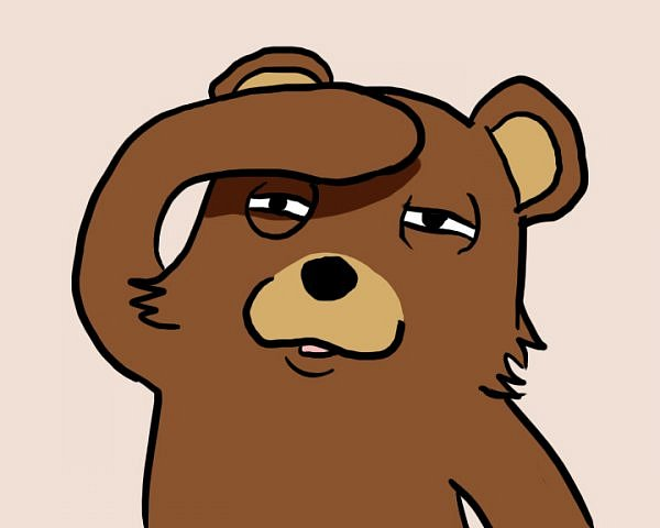 Педобир, мем педобир, pedobear, медведь мем