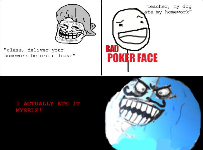I Lied Face