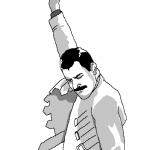 мем фредди меркьюри, меркьюри поднимает руку, кулак фредди меркьюри, откуда мем с фредди меркьюри,