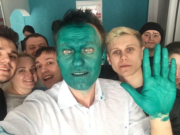 навальный селфи