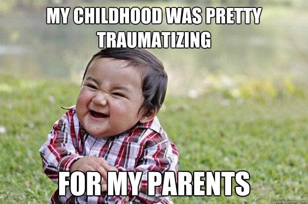 Хитрый малыш (Evil Toddler)