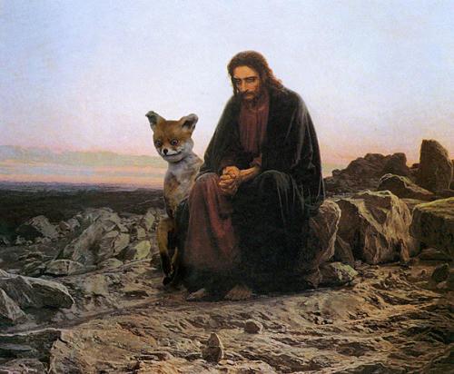 Упоротый лис и Иисус, Упоротый лис фотожабы