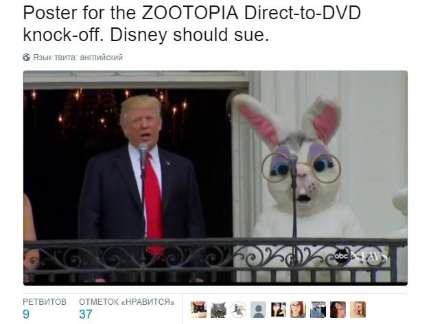 трамп заяц