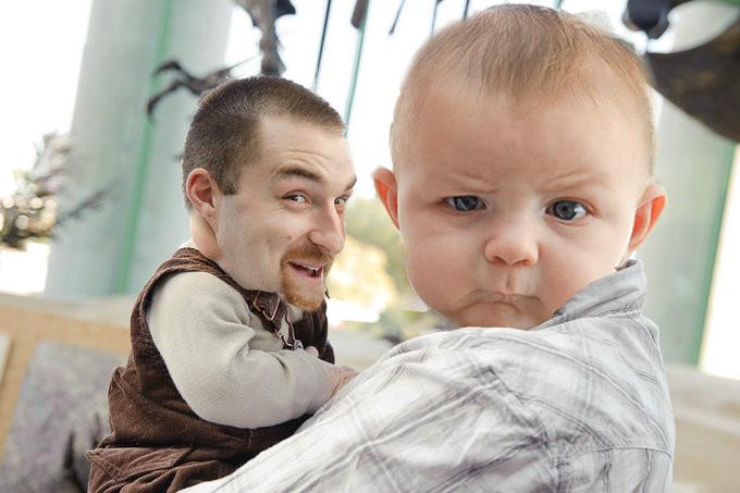 skeptical baby наоборот